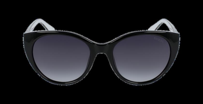 Lunettes de soleil femme GU7594 noir - Vue de face
