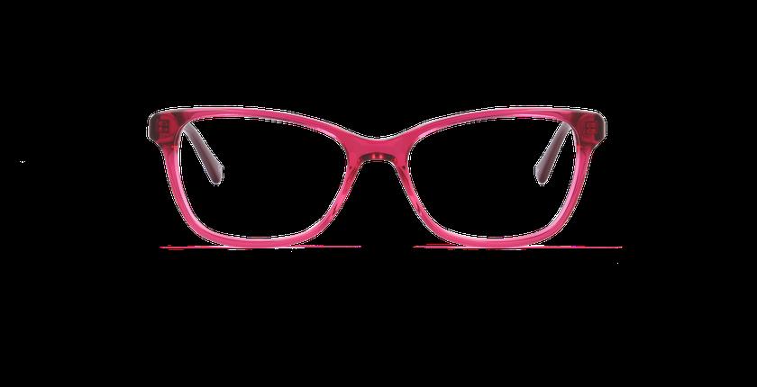 Lunettes de vue femme ONYX rouge - Vue de face