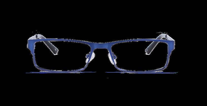 Lunettes de vue homme HUGO bleu - Vue de face