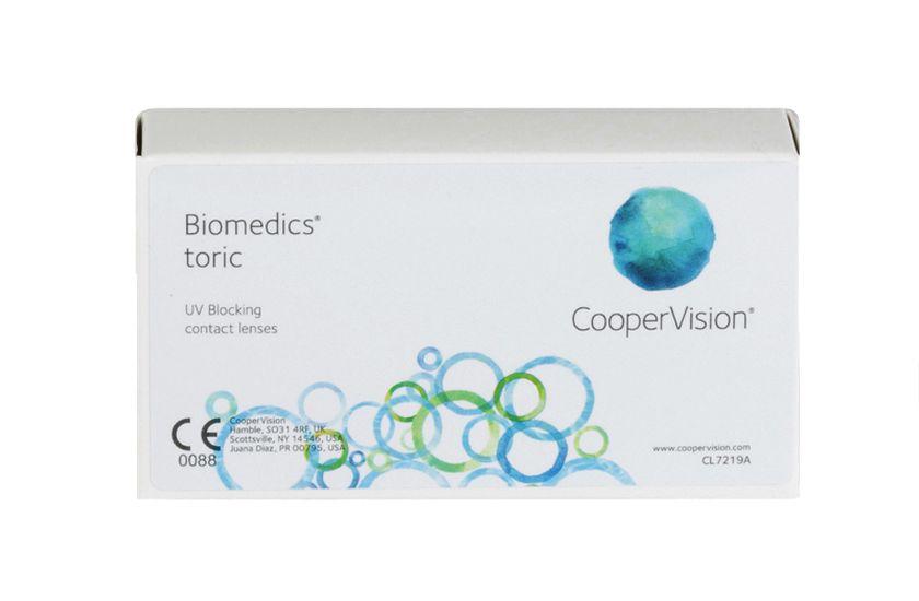 Lentilles de contact Biomedics® Toric 6L - danio.store.product.image_view_face