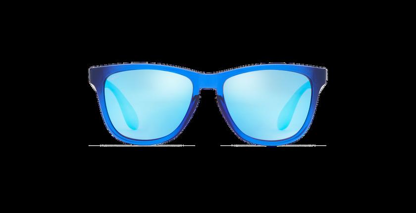 Lunettes de soleil homme LANZA bleu - Vue de face