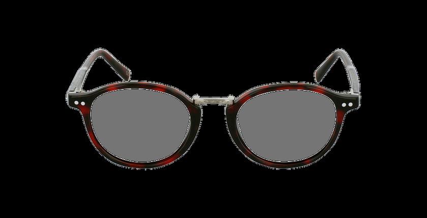 Lunettes de vue BRAHMS rouge - Vue de face