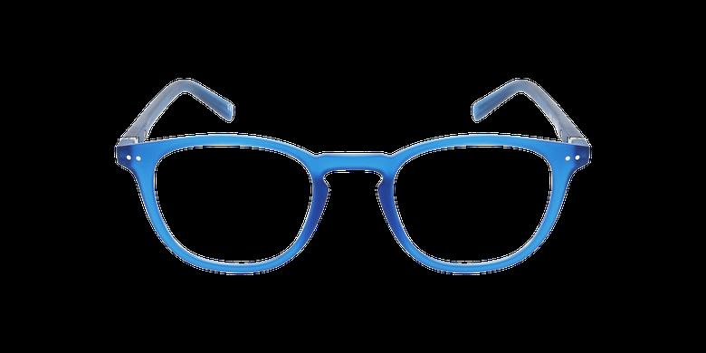 Lunettes de vue BLUE BLOCK 1 MIXTE bleuVue de face