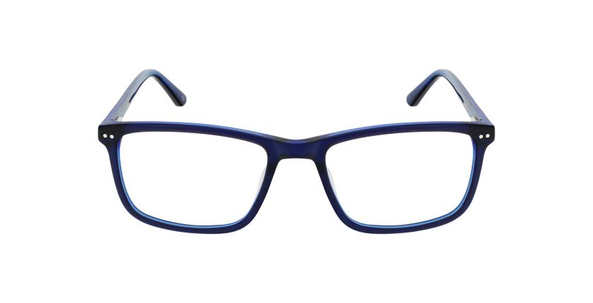 Lunettes de vue homme GWENDAL bleu - Vue de face