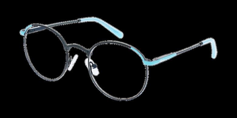 Lunettes de vue femme MELINA noir/turquoise