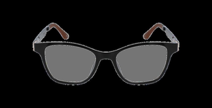 Lunettes de vue femme SMART TONIC 17 noir/noir brillant - Vue de face