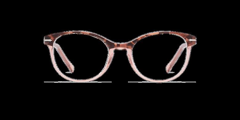Lunettes de vue femme BELLEFONTAINE écaille/rose