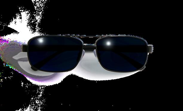 Lunettes de soleil homme ALFREDO noir - danio.store.product.image_view_face