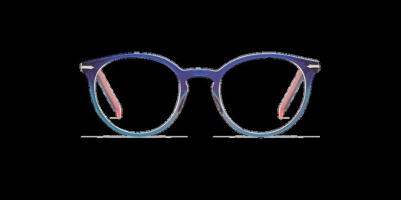 Lunettes de vue femme OYONNAX bleu/vert