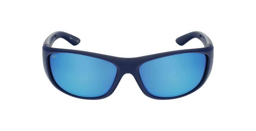 Lunettes de soleil ANTON POLARIZED bleu - Vue de face