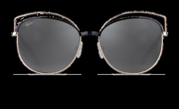 Lunettes de soleil femme BETTY noir/doré - danio.store.product.image_view_face