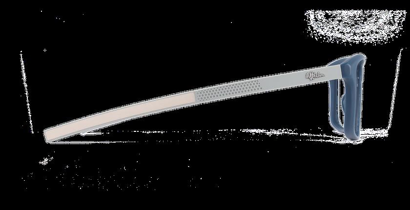 Lunettes de vue homme ERIC bleu - Vue de côté