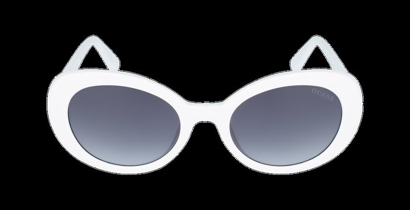 Lunettes de soleil femme GU7632 blanc - Vue de face