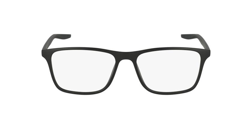 Lunettes de vue homme 7125 noir - Vue de face