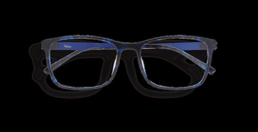 Lunettes de vue homme ALPHA12 bleu - Vue de face