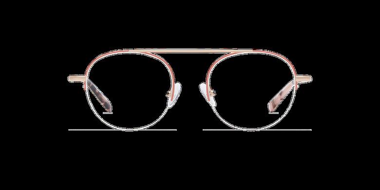Lunettes de vue femme REBECCA rose/doré