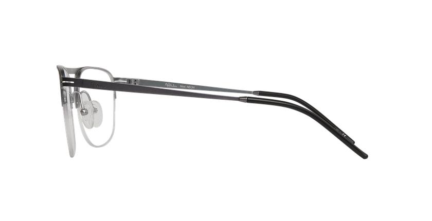 Lunettes de vue homme NEON gris/argenté - Vue de côté