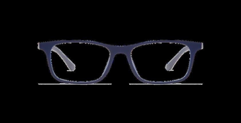 Lunettes de vue homme SMART TONIC 14 bleu - Vue de face
