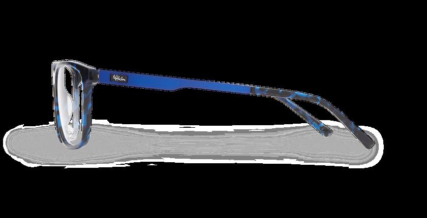 Lunettes de vue homme ALPHA12 bleu - Vue de côté