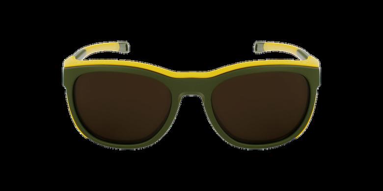 Lunettes de soleil Skyline vert/jauneVue de face