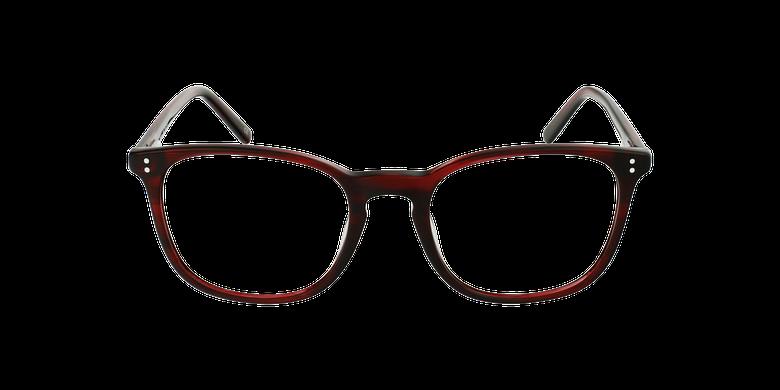 Lunettes de vue homme MAXENCE rouge
