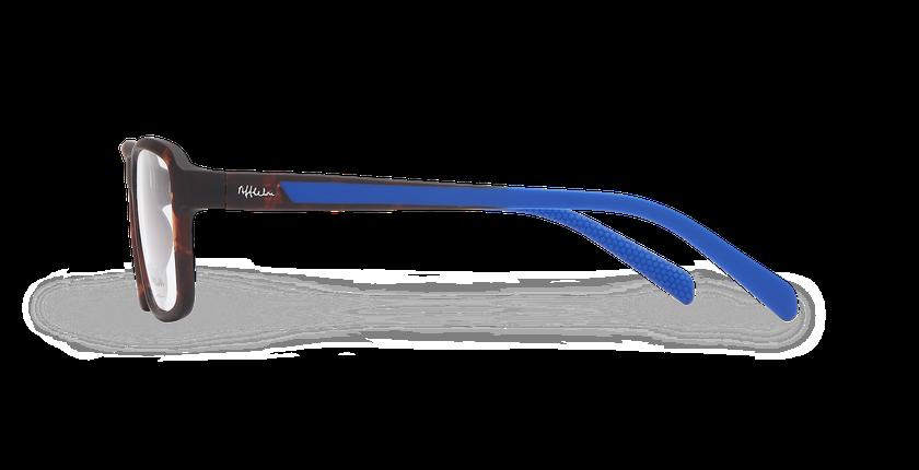 Lunettes de vue homme BIRDIE écaille/bleu - Vue de côté