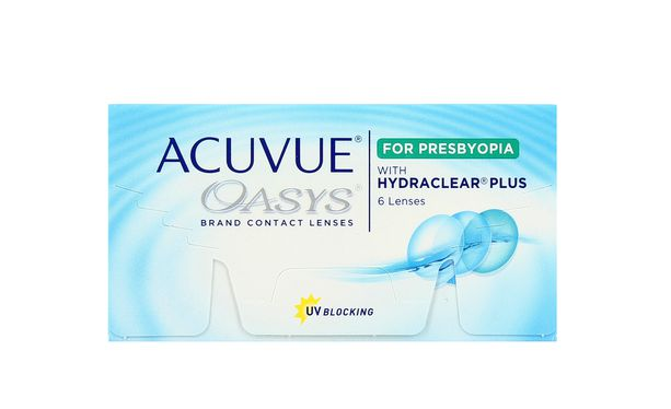 Lentilles de contact Acuvue® Oasys® for Presbyopia - Vue de face