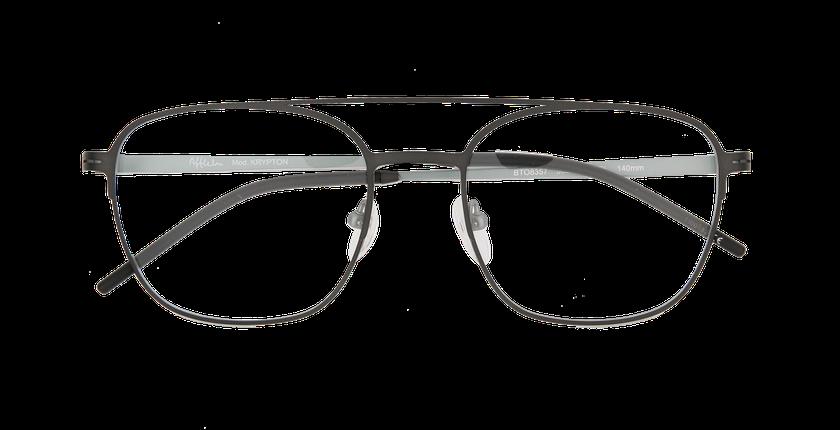 Lunettes de vue homme KRYPTON blanc/argenté - Vue de face