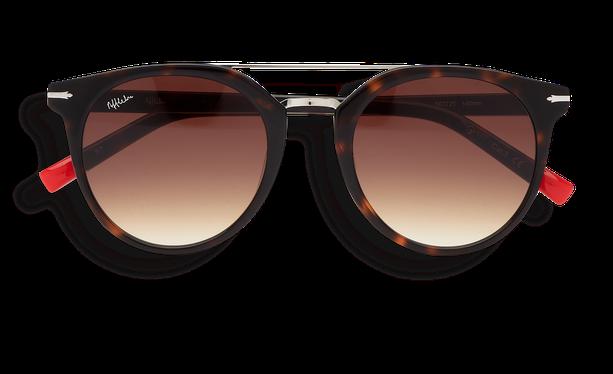 Lunettes de soleil homme BOWEN écaille/marron - danio.store.product.image_view_face