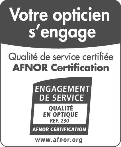 certification afnor optique afflelou
