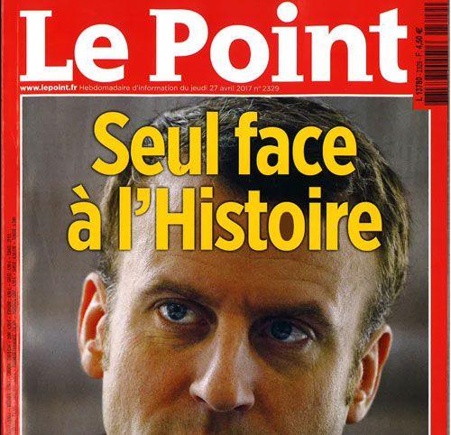 Couverture presse : Le_Point