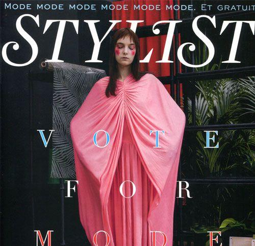 Couverture presse : Stylist