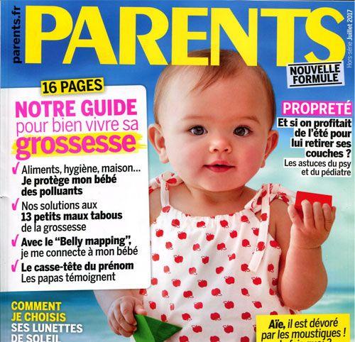 Couverture presse : Parents