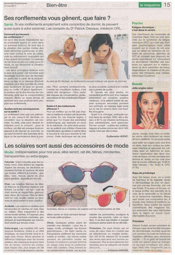 Couverture presse : Ouest_France