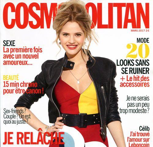 Couverture presse : Cosmopolitan
