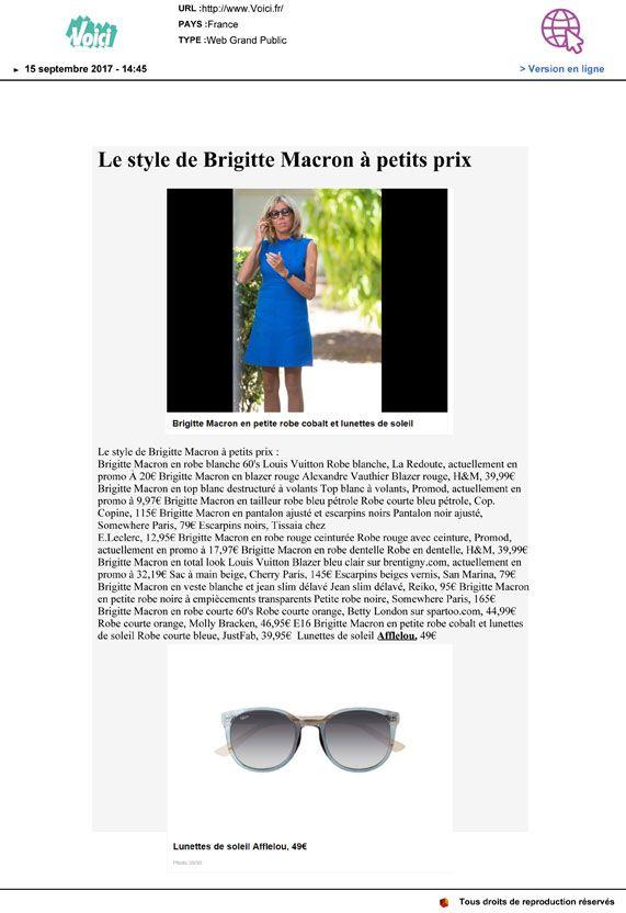 Couverture presse : Voici.fr