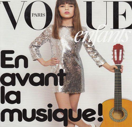 Couverture presse : Vogue_Enfants