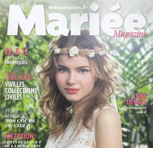 Couverture presse : Mariee_Magazine