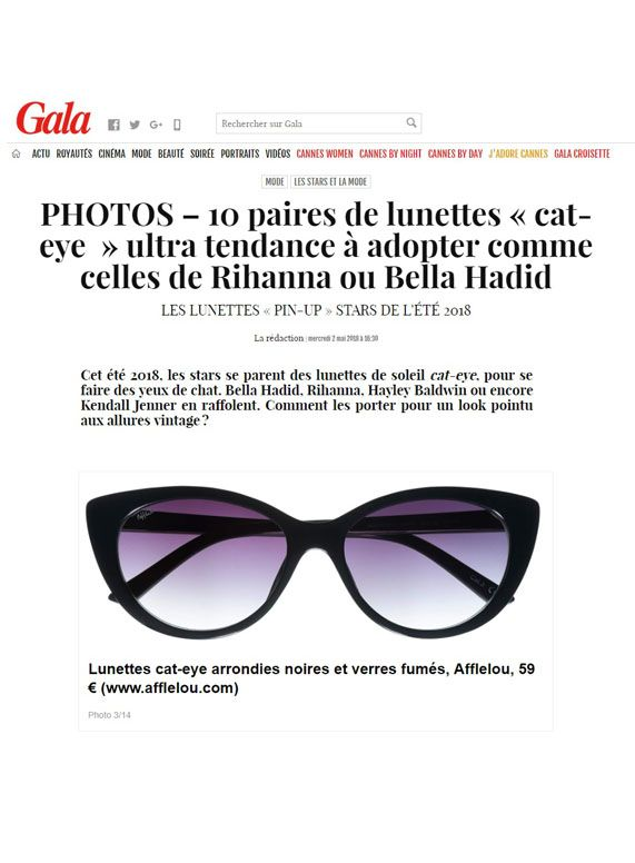 Couverture presse : Gala_Fr