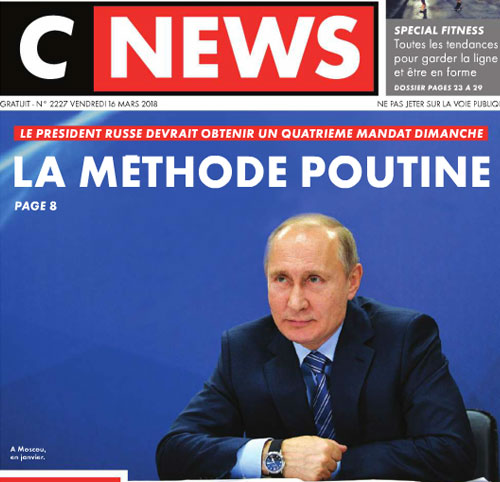 Couverture presse : Cnewsmatin