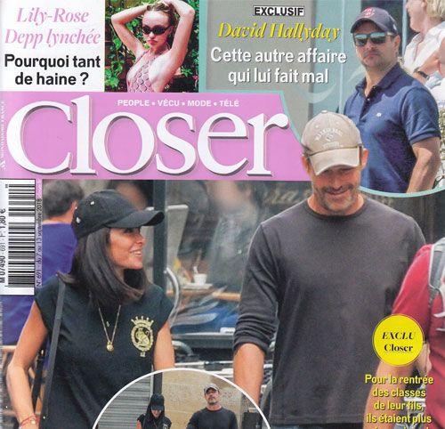Couverture presse : Closer