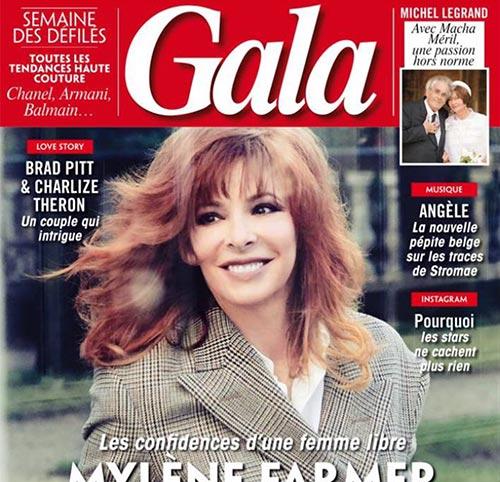 Couverture presse : Gala