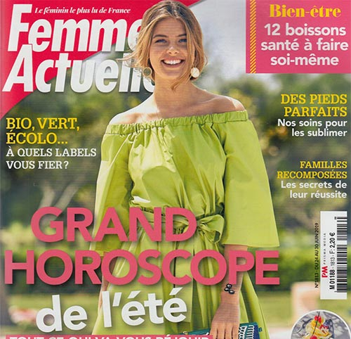 Couverture presse : Femme_Actuelle