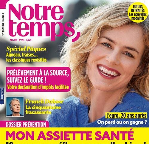 Couverture presse : Notre_Temps