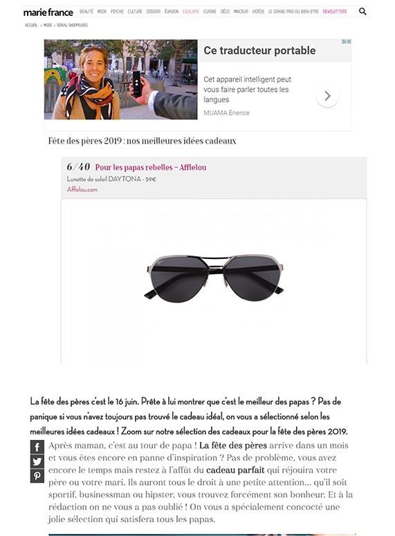 Couverture presse : Marie_France