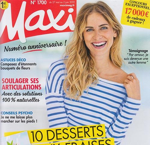 Couverture presse : Maxi