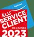 Élu service client de l'année 2017