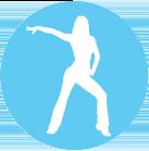 Ephemere blue dance