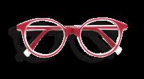Image d'une monture REFORM de couleur rouge