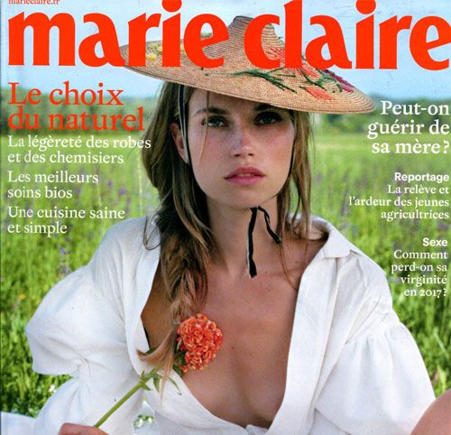 Couverture presse : Marie_Claire